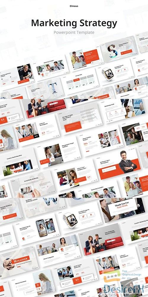 M-Planner Solution Powerpoint, Keynote and Google Slides Presentation