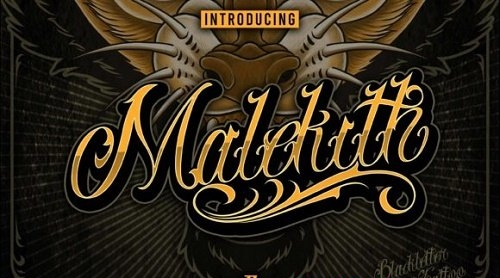 Malekith Font