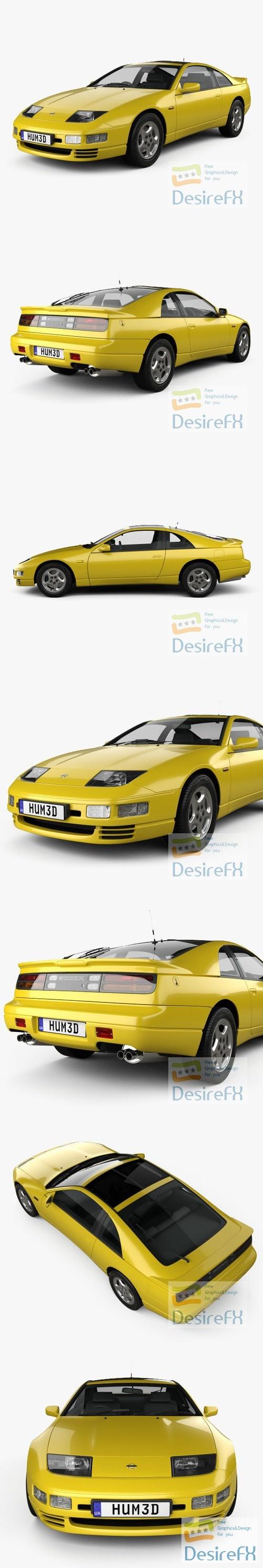 Nissan 300ZX 1989 3D Model