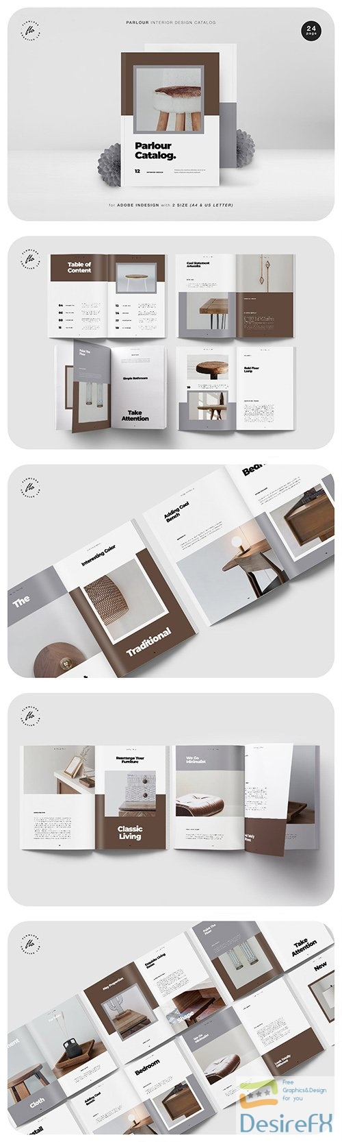 Parlour Interor Design Catalog