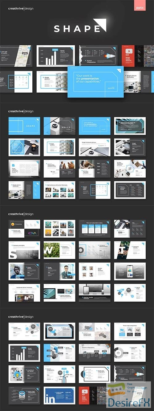 Shape PowerPoint and Keynote