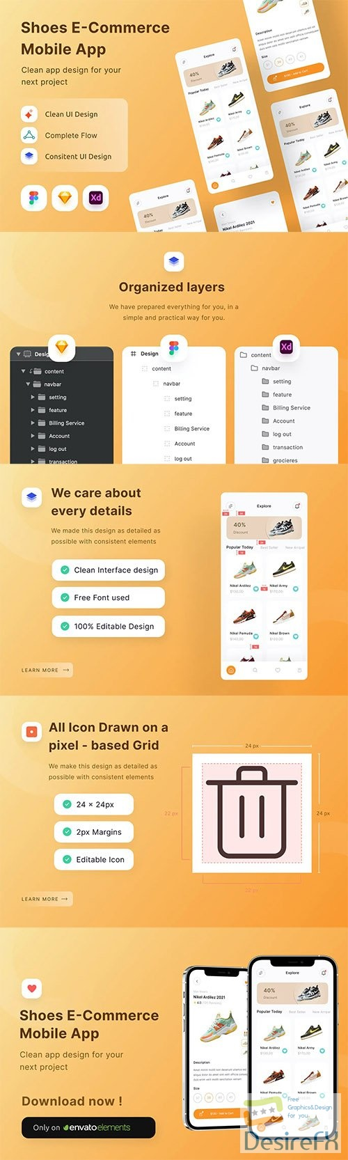Shoes E-Commerce Mobile App