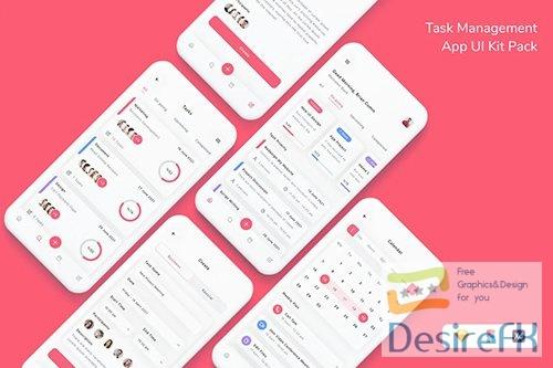 Task Management App UI Kit Pack
