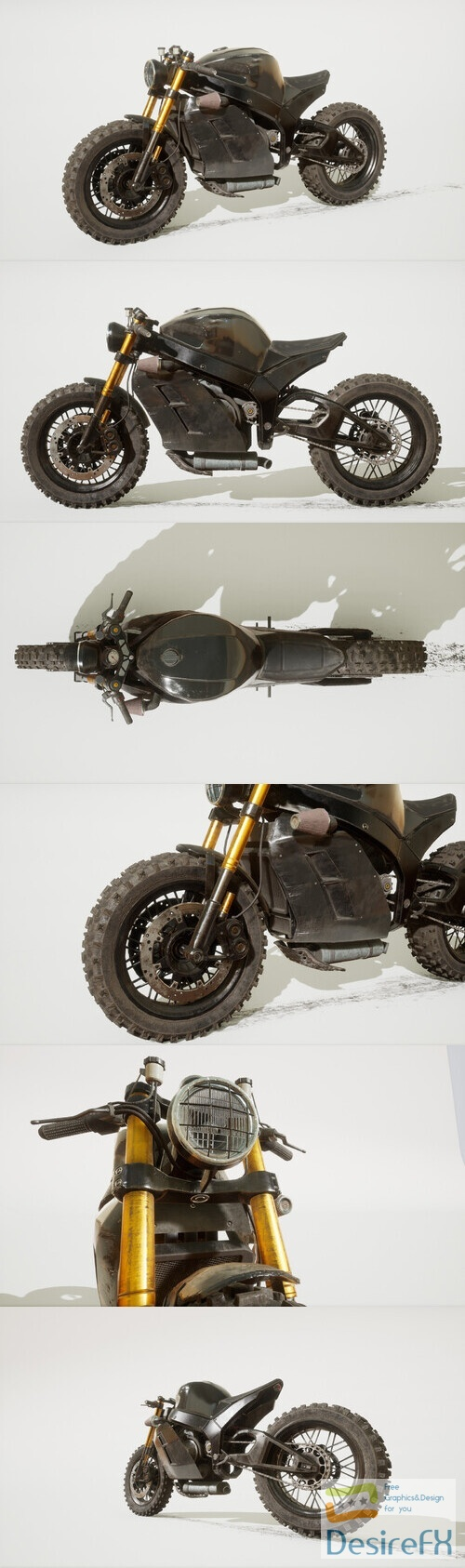 Urban Superbike 3D Model