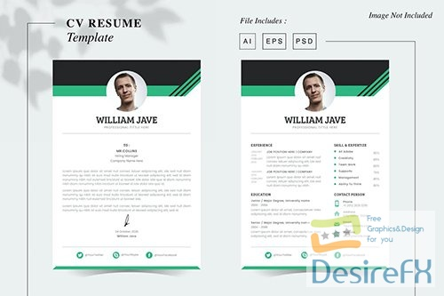 William Jave - CV Resume Template