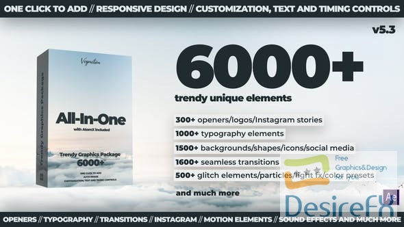 Videohive 6000+ Graphics Pack V5.3 24321544