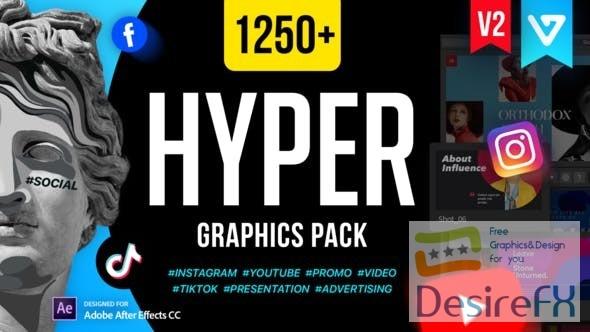 Videohive Hyper - Graphics Pack V2.1 24835354