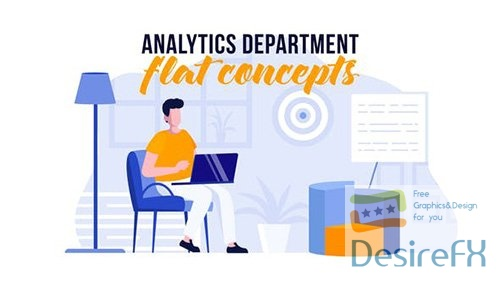Analytics department - Flat Concept 31441030