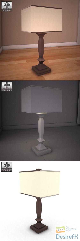 Ashley Laine Table Lamp 3D Model