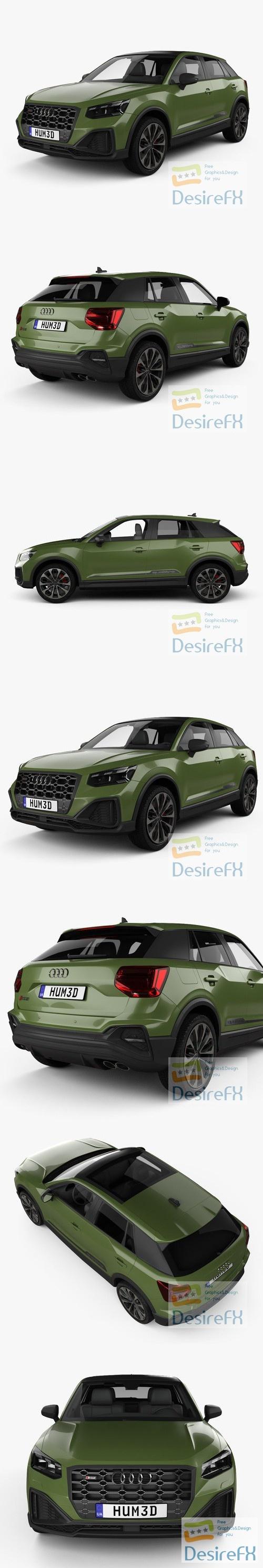 Audi SQ2 2020 3D Model