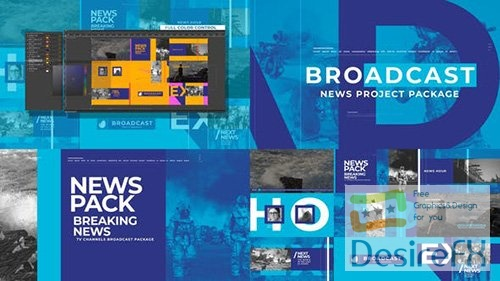 News Broadcast Pack 26021886