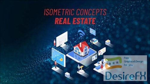 Real Estate - Isometric Concept 31693788