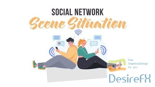 Social network - Scene Situation 31859798