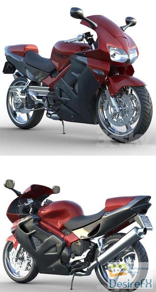 Honda VFR 801 3D Model