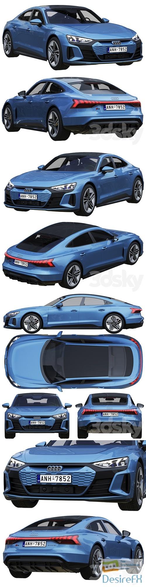 Audi RS e-tron GT 3D Model