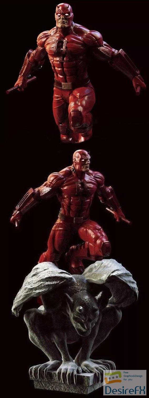 DareDevil Marvel comics 3D Print