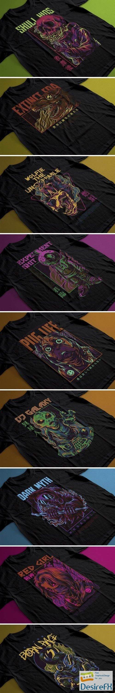 Premium T-shirt Illustration Bundle