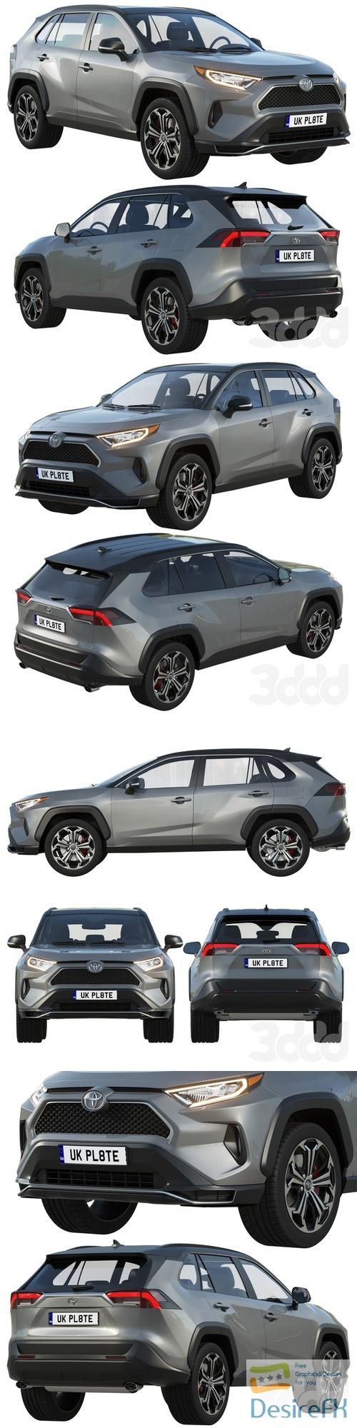 Toyota RAV4 Prime 2021 3D Model