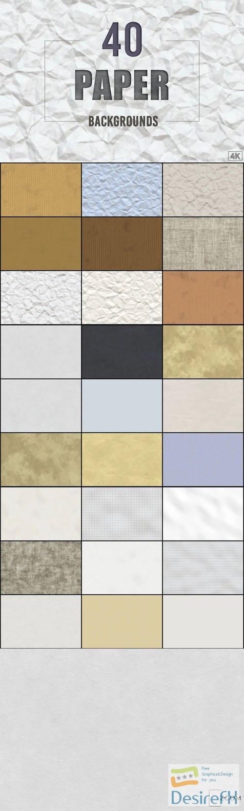 40 Realistic Paper Textures