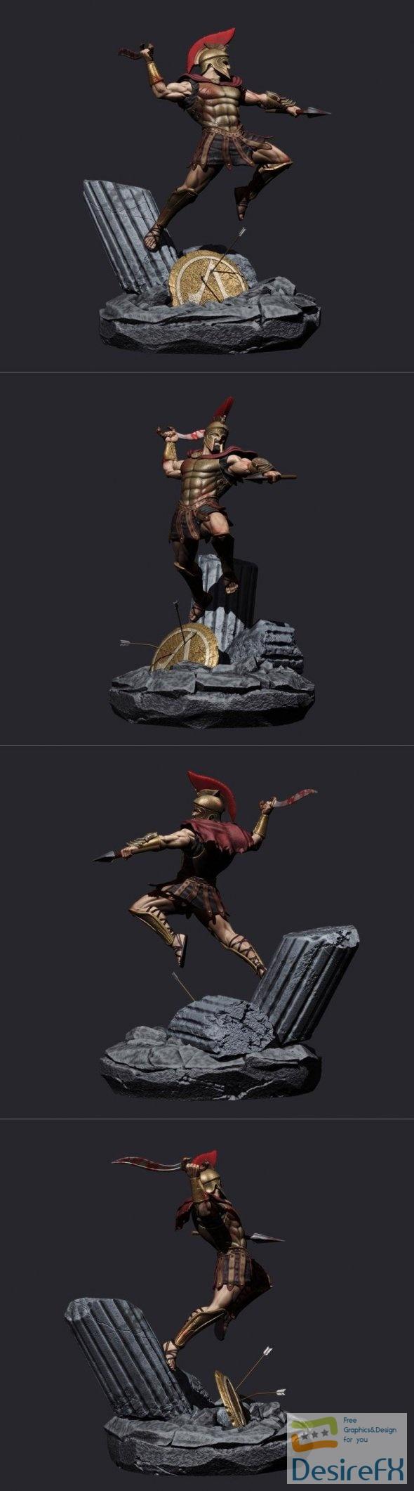 Assassins Creed Odyssey Custom 3D Print