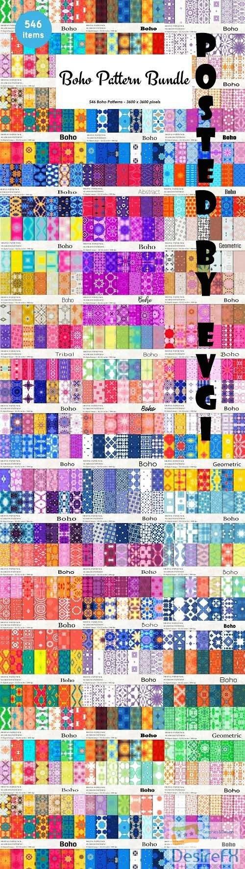 Boho Pattern Bundle - 6256209