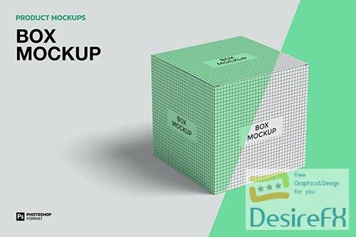 Box - Mockup TAPDAXE PSD