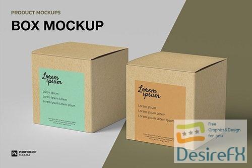 Box - Mockup Y9QV38Z PSD