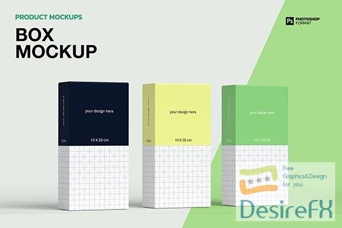 Box - Mockups 2V69MPP PSD