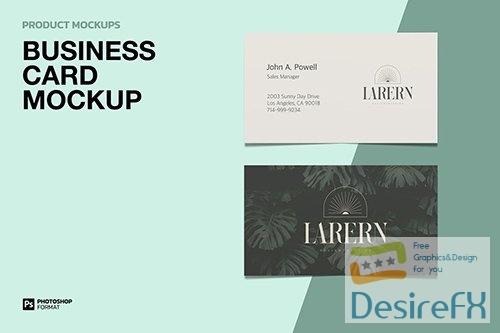 Business Card - Mockup 4PU45JE PSD
