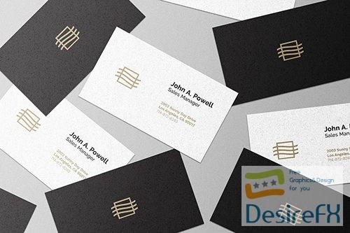 Business Card Mockup BHDRVQL PSD