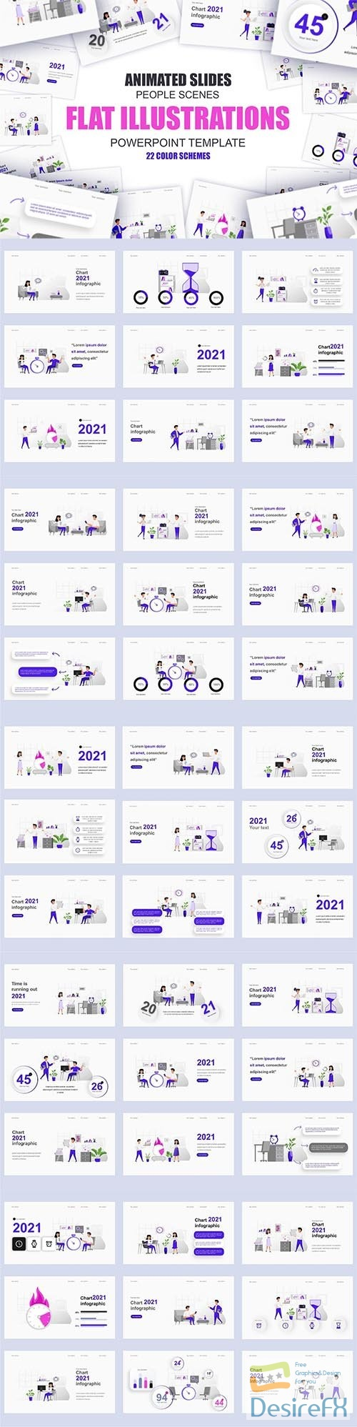 Business Illustration Powerpoint Template
