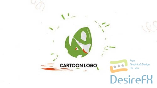 Cartoon Liquid Logo   After Effects Template 33181334