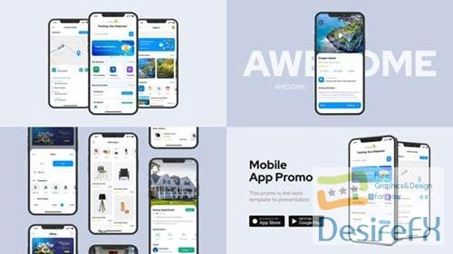 Clean Mobile App Promo 33230027