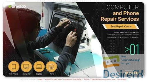 Computer and Phones Repair Services 33224653