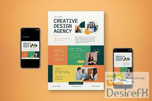 Creative Corporate Flyer Set YJ59Y6X
