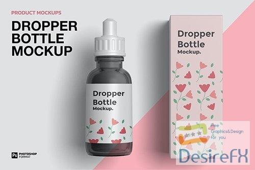 Dropper Bottle - Mockup T3WWWEH PSD