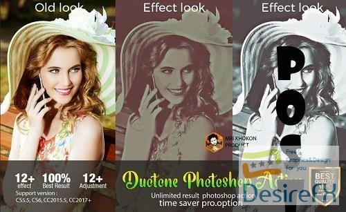 Duotone Photoshop Action - 2486