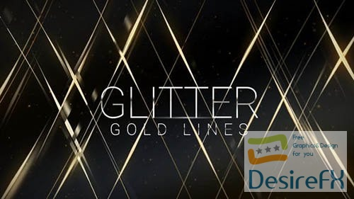 Glitter Gold Lines   Award Titles 26401475