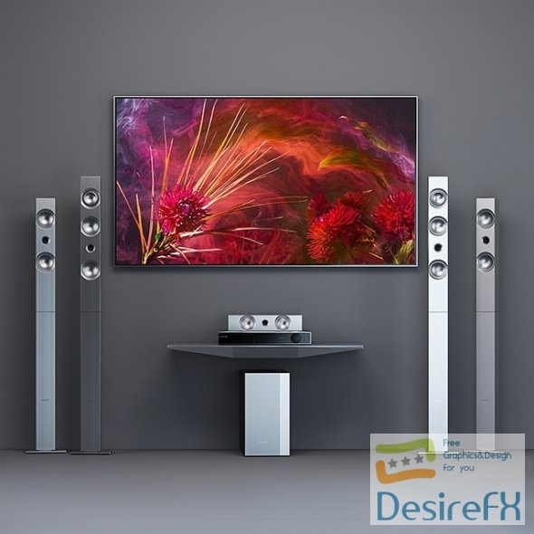 Home theater Samsung HT F9750W
