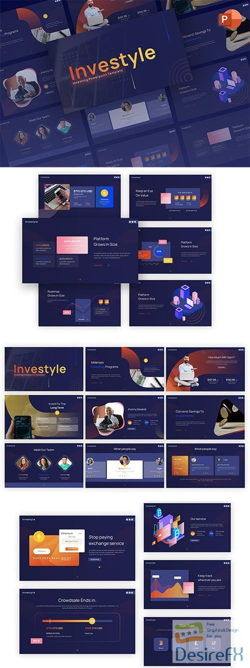 Investyle Investing Modern PowerPoint Template