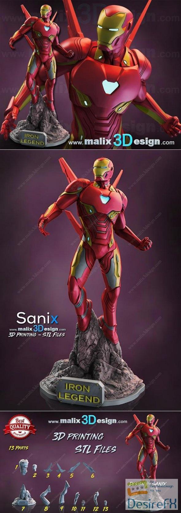Iron Man 3D Print