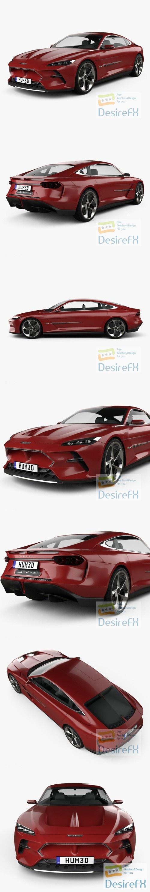 Italdesign DaVinci 2020 3D Model