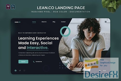 Lean.co | Landing Page Q6TNGBW