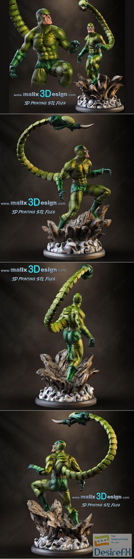 Marvel Scorpion 3D Print