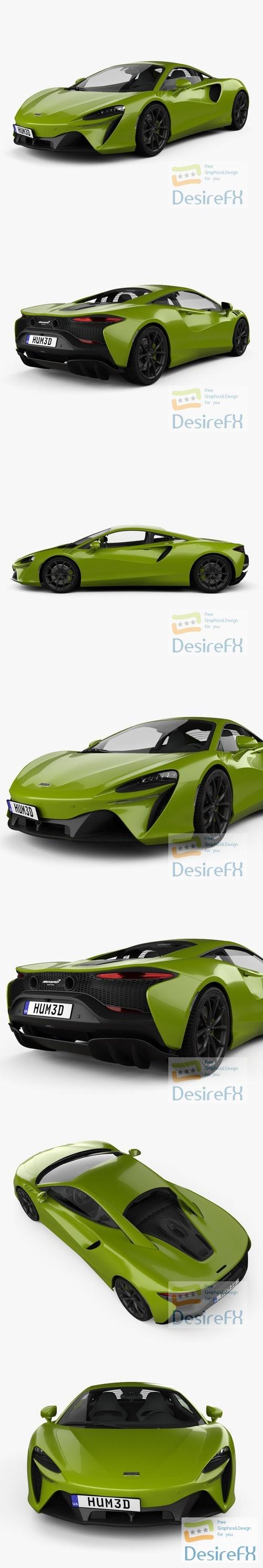 McLaren Artura 2021 3D Model