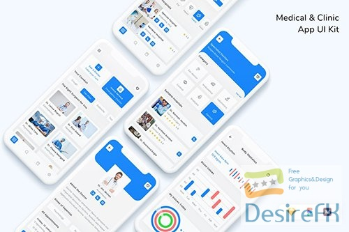 Medical & Clinic App UI Kit