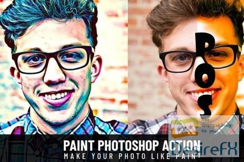Paint Photoshop Action - 2473