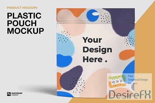 Plastic Pouch - Mockup M72CGYT PSD