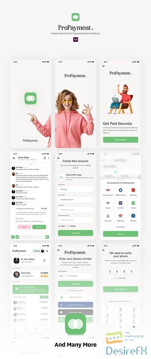 Pro Payment UI Kit - UI8