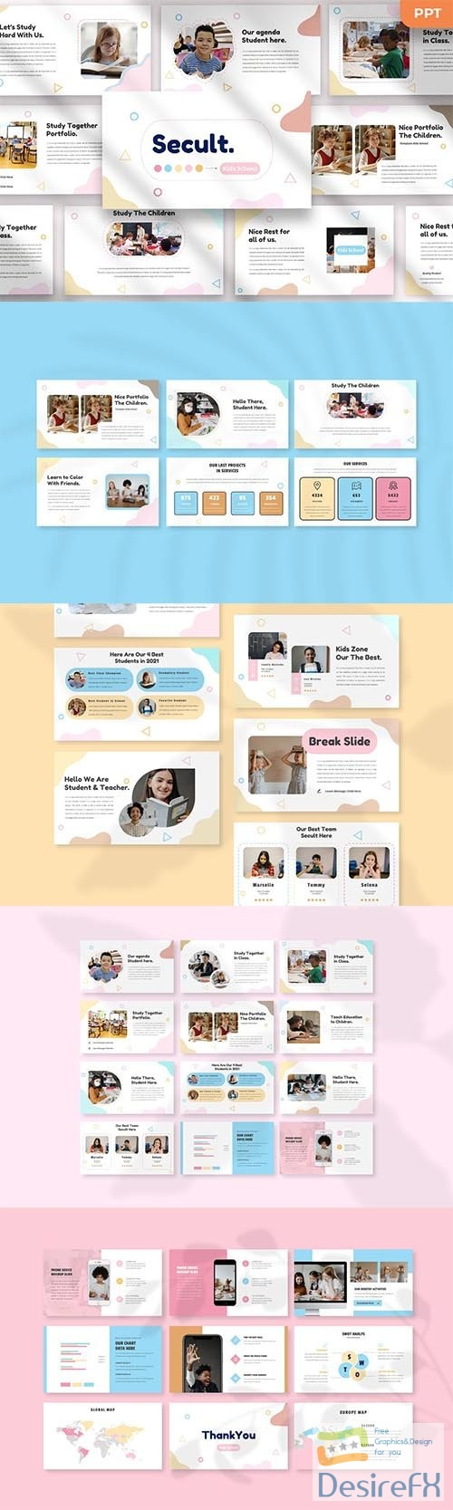 Secult - Kids Powerpoint, Keynote and Google Slides Template